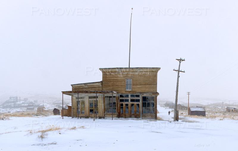 Bodie Hotel in Winter